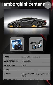 Lamborghini Centenario Car Photos and Videos screenshot 1