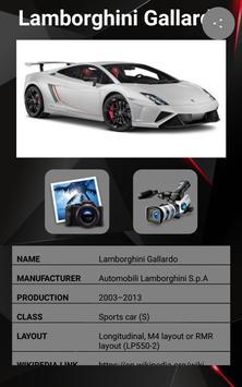 Lamborghini Gallardo Car Photos and Videos screenshot 17