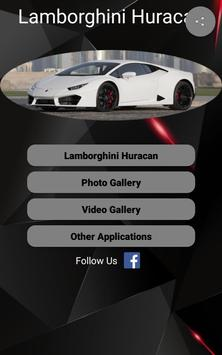 Lamborghini Huracan Car Photos and Videos poster