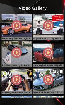 Lamborghini Huracan Car Photos and Videos screenshot 2