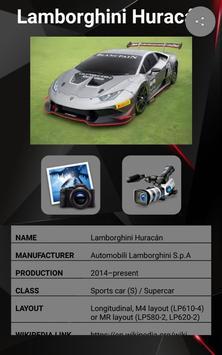 Lamborghini Huracan Car Photos and Videos screenshot 9