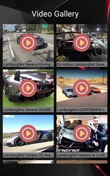 Lamborghini Veneno Car Photos and Videos screenshot 10