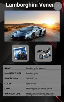Lamborghini Veneno Car Photos and Videos screenshot 1