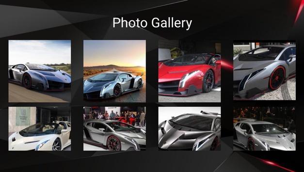 Lamborghini Veneno Car Photos and Videos screenshot 5