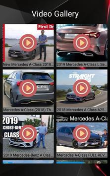 Mercedes A Class Car Photos and Videos screenshot 10