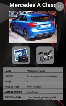 Mercedes A Class Car Photos and Videos screenshot 1