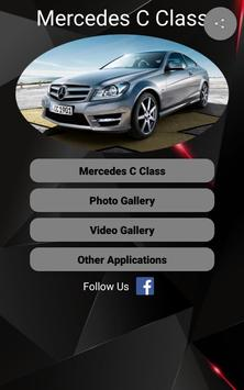 Mercedes C Class Car Photos and Videos poster