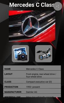 Mercedes C Class Car Photos and Videos screenshot 1