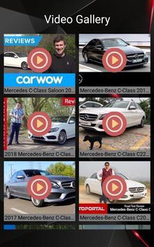 Mercedes C Class Car Photos and Videos screenshot 2