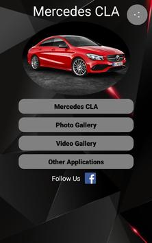 Mercedes CLA Car Photos and Videos poster
