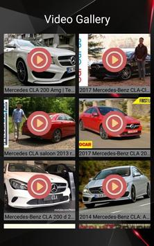 Mercedes CLA Car Photos and Videos screenshot 18