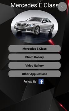 Mercedes E Class Car Photos and Videos poster