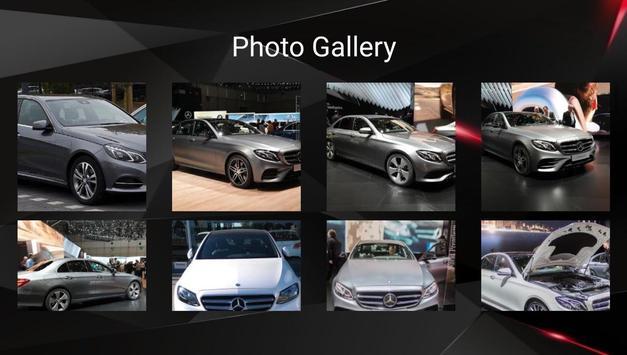 Mercedes E Class Car Photos and Videos screenshot 14