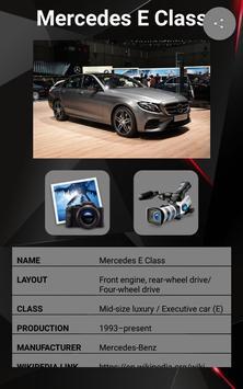 Mercedes E Class Car Photos and Videos screenshot 17
