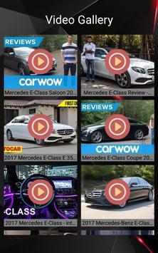 Mercedes E Class Car Photos and Videos screenshot 18