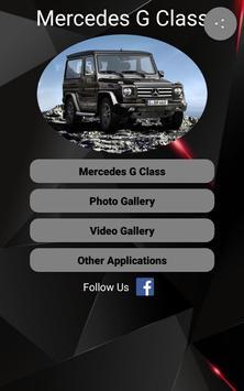 Mercedes G Class Car Photos and Videos poster