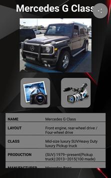 Mercedes G Class Car Photos and Videos screenshot 1