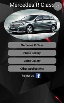 Mercedes R Class Car Photos and Videos poster