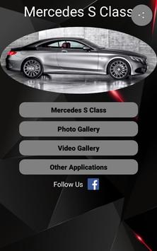 Mercedes S Class Car Photos and Videos poster