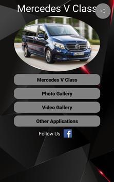 Mercedes V Class Car Photos and Videos poster