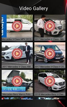 Mercedes V Class Car Photos and Videos screenshot 10