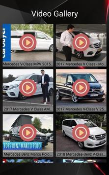 Mercedes V Class Car Photos and Videos screenshot 18