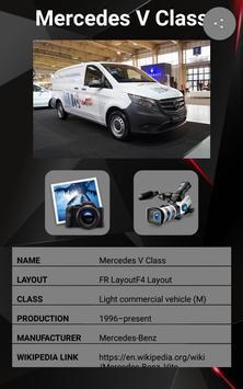 Mercedes V Class Car Photos and Videos screenshot 1
