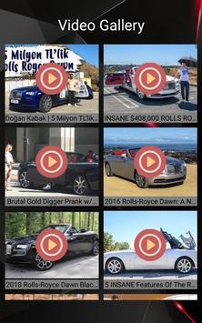 Rolls Royce Dawn Car Photos and Videos screenshot 18