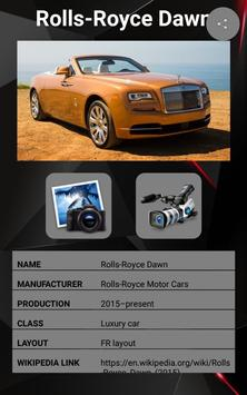 Rolls Royce Dawn Car Photos and Videos screenshot 9
