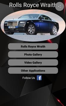 Rolls Royce Wraith Car Photos and Videos screenshot 8