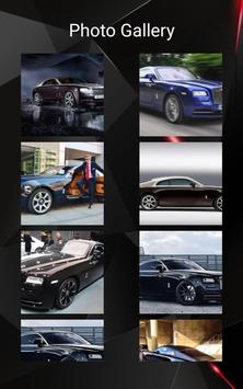 Rolls Royce Wraith Car Photos and Videos screenshot 11