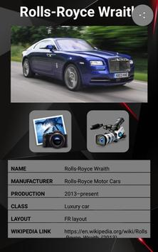Rolls Royce Wraith Car Photos and Videos screenshot 17