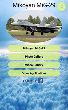 MiG-29 Photos and Videos screenshot 8