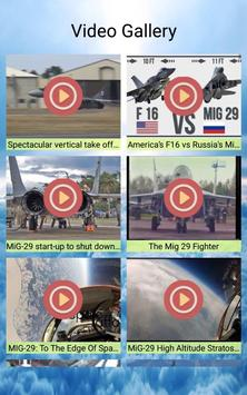 MiG-29 Photos and Videos screenshot 2