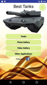 Best Tanks poster