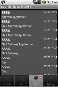 SMS Gateway Application screenshot 4