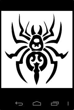 Tribal Spider Ideas poster