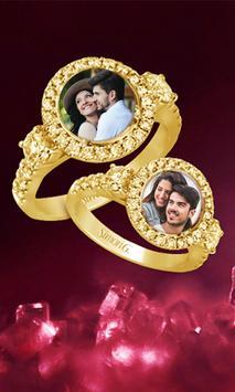 Lovely Ring Photo Frame poster