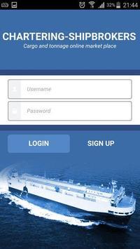 Chartering Shipbrokers Online apk screenshot