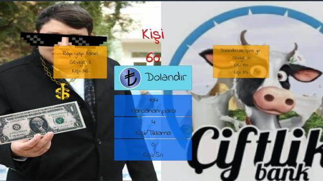 Tosun Clicker- Mehmet Aydınla Milyonları Dolandır screenshot 2