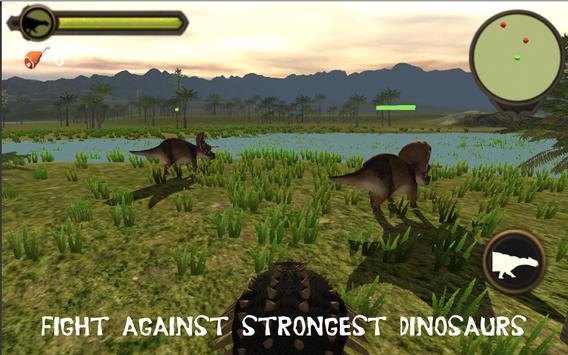Ankylosaurus simulator 2017 apk screenshot