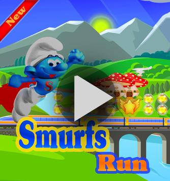 Super Smurfs Jungle Run poster