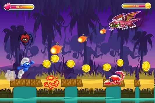 Super Smurfs Jungle Run apk screenshot