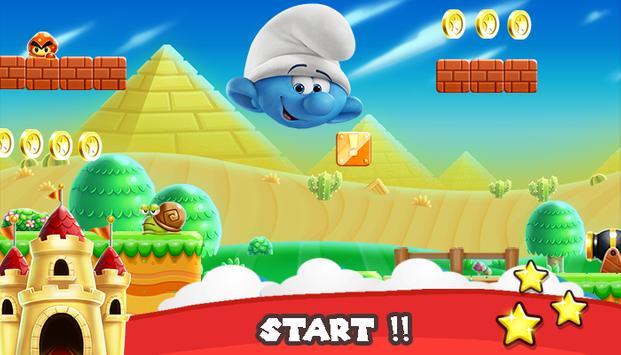 Smeurf run in the village screenshot 1