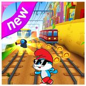 Adventures smurfs run game icon