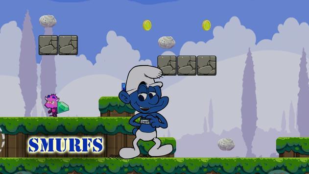 Super Smurf Adventure apk screenshot