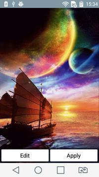 Sea voyage live wallpaper poster
