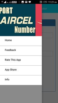 Aircel Port Online Generator apk screenshot
