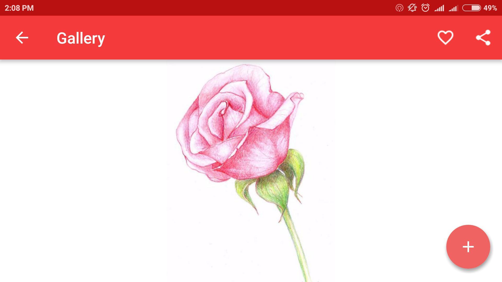 Sketsa Bunga Yang Mengagumkan For Android APK Download