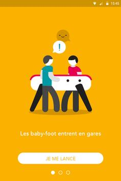 Baby-foot connecté poster